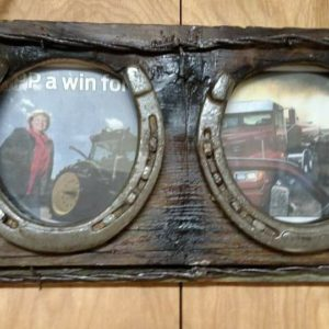 Horse Shoe Picture Frame